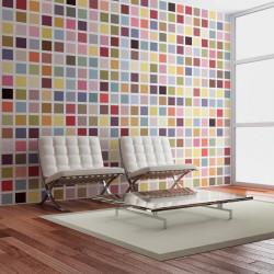 Fototapet - Mosaik af farver