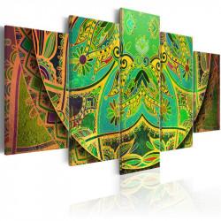 Billede - Mandala: Green...