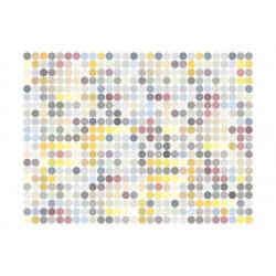 Fototapet - Colored polka dots