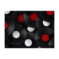 Fototapet - Vinyler: Retro