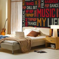 Fototapet - Music is my life