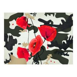 Fototapet - The flowers of war