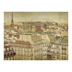 Fototapet - Farvel Paris!