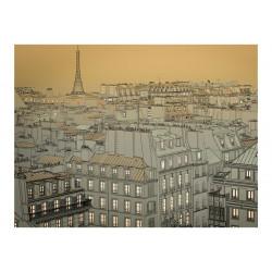 Fototapet - Godnat Paris!