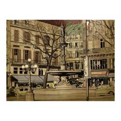 Fototapet - Parisisk...