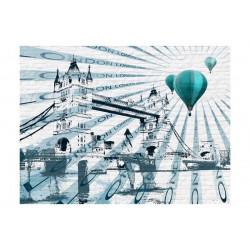 Fototapet - Ballon flyvning...