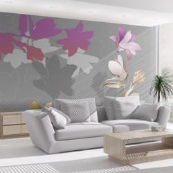 Fototapet - Pastel magnolias