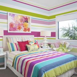 Fototapet - Bright stripes
