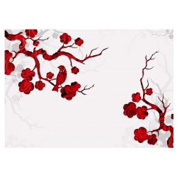 Fototapet - Red bush