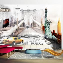 Fototapet - New York streets