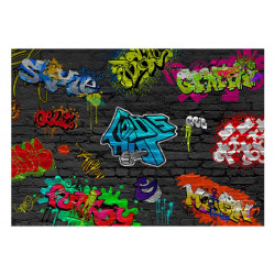Fototapet - Graffiti wall