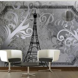 Fototapet - Vintage Paris -...