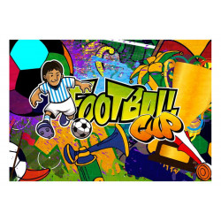 Fototapet - Football Cup