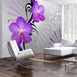 Fototapet - Purple vibrations