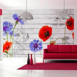 Fototapet - Wildflowers