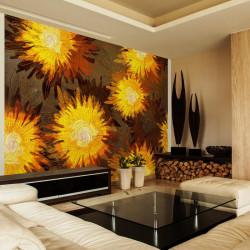 Fototapet - Sunflower dance