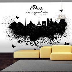 Fototapet - Paris is always...