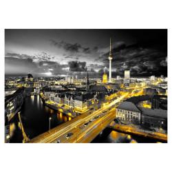 Fototapet - Berlin at night