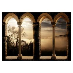 Fototapet - Mountain monastery