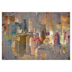 Fototapet - City in the mist