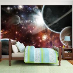 Fototapet - Walk in Space