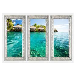 Fototapet - Lonely island