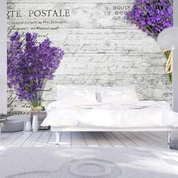 Fototapet - Lavender postcard