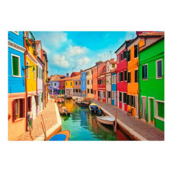 Fototapet -  Colorful Canal...