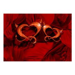 Fototapet - Two hearts