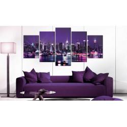 Billede - Purple Sky