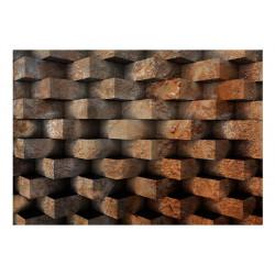 Fototapet - Brick  braid