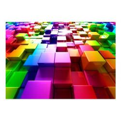 Fototapet - Colored Cubes
