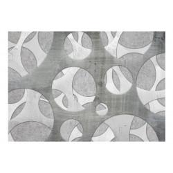 Fototapet - Woven of grays