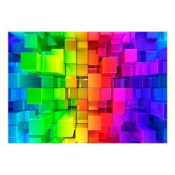Fototapet - Colour jigsaw