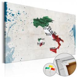 Billede på kork - Italy...