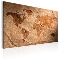 Billede - Paper Map