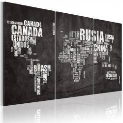 Billede - Kort over verden...
