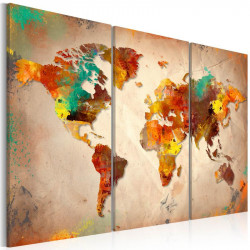 Billede - Painted World -...