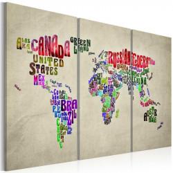 Billede - Farverige lande -...