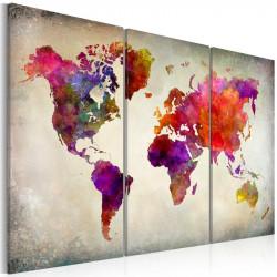 Billede - World - Mosaic of...