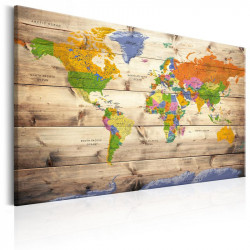 Billede - Map on wood:...