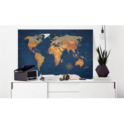 Billede - World Map: Ink...
