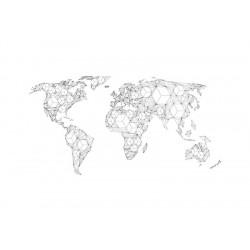 Fototapet XXL - Map of the...