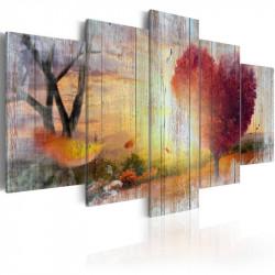 Billede - Lovers' Autumn