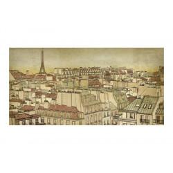 Fototapet XXL - Farvel Paris!