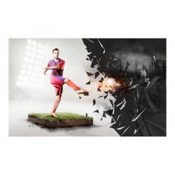 Fototapet - Power of football