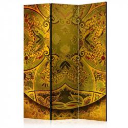 Skærmvæg - Mandala: Golden...