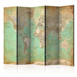Skærmvæg - Turquoise World...