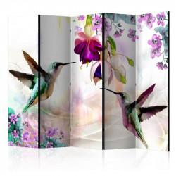 Skærmvæg - Hummingbirds and...