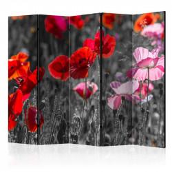 Skærmvæg - Red Poppies II...